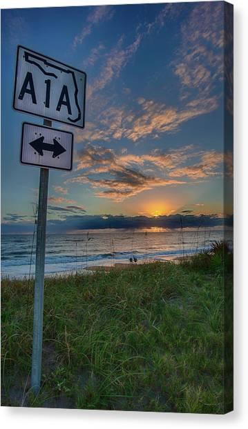 A1a Sunrise Canvas Print