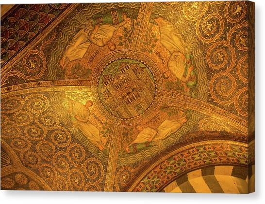 Aachen Cathedral Canvas Print