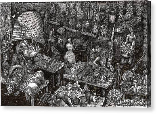 Aaron Finds Duryano Canvas Print