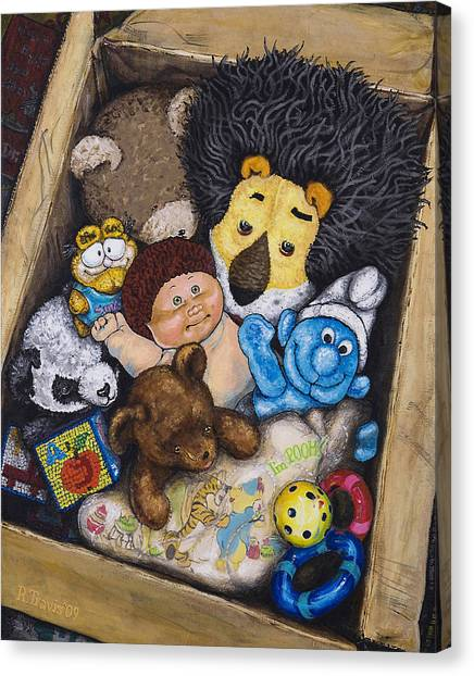 Canvas Print - Aarons Box by Rich Travis