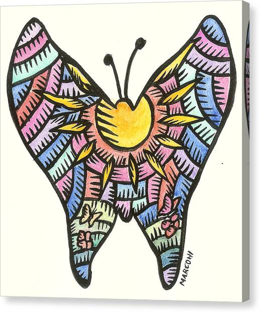 Ababang Guam Butterfly 2009 Canvas Print