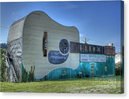 Abandon Country Music Museum Canvas Print