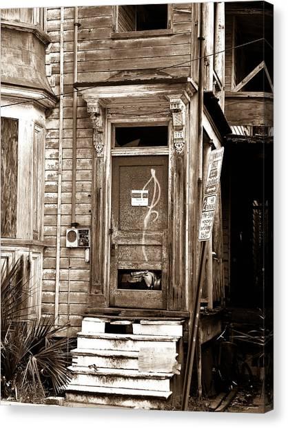 Abandoned 1 Canvas Print by Melissa Wyatt
