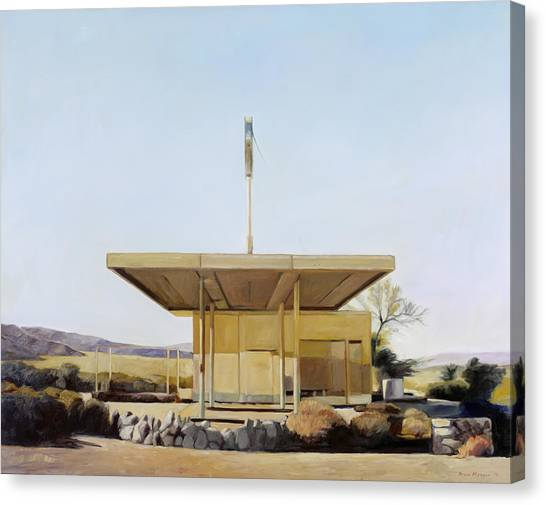 Abandoned 4 Canvas Print by Steve Metzger
