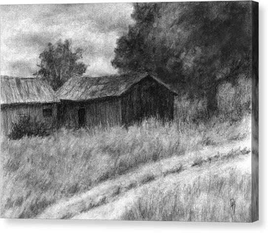 Abandoned Barns Canvas Print