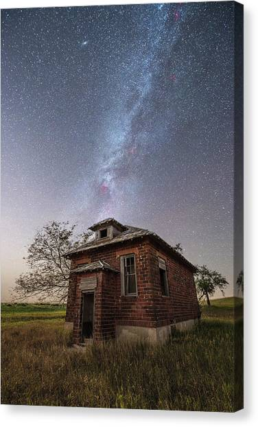Andromeda Canvas Print - Abandoned Bricks  by Aaron J Groen