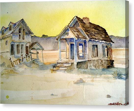 Abandoned Buildings Canvas Print