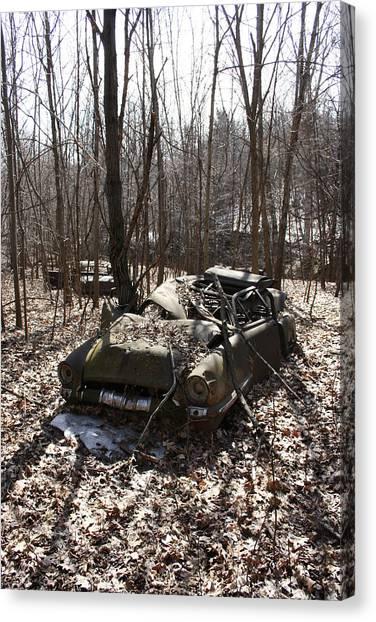Abandoned Car 4 Canvas Print