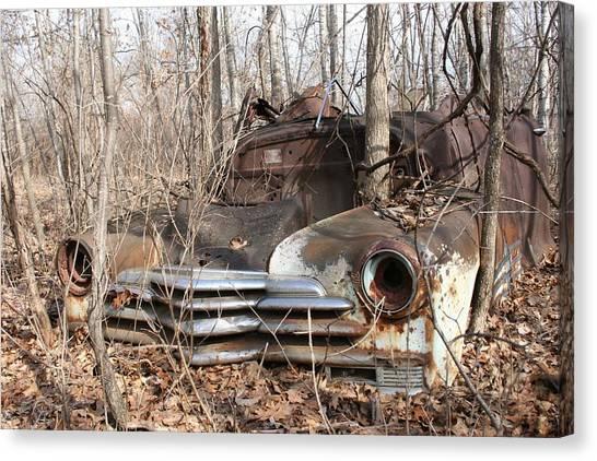 Abandoned Car 5 Canvas Print