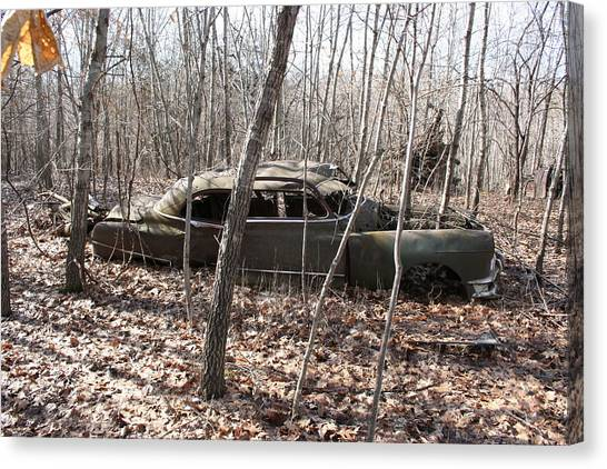 Abandoned Car 6 Canvas Print