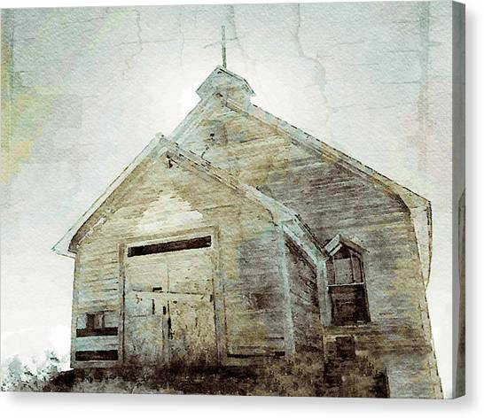 Abandoned Church 1 Canvas Print