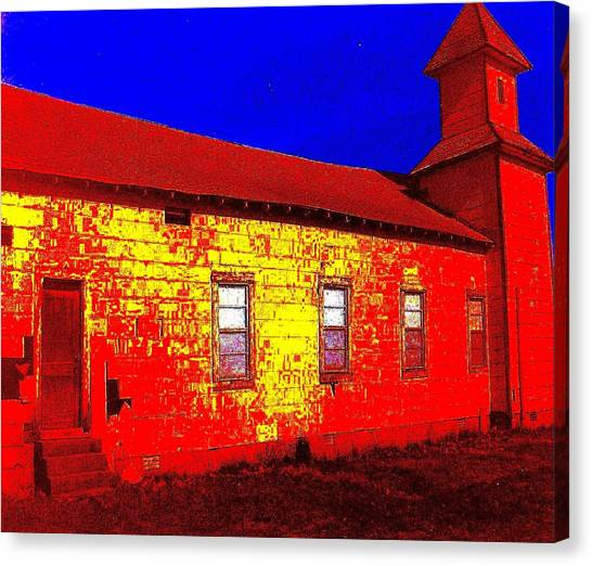 Abandoned Church Canvas Print