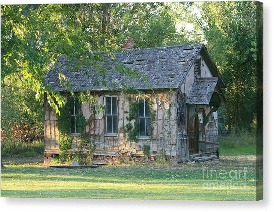 Abandoned Cottage Canvas Print