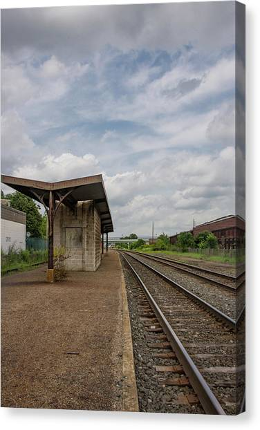 Abandoned Depot Canvas Print