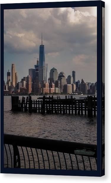 Abandoned Hoboken Pier Canvas Print