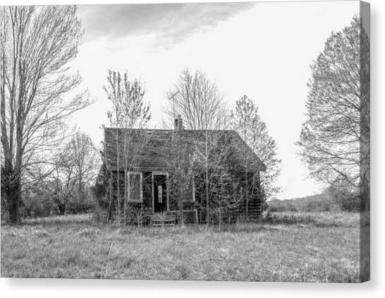 Canvas Print - Abandoned House Queenstown, Md  by Charles Kraus