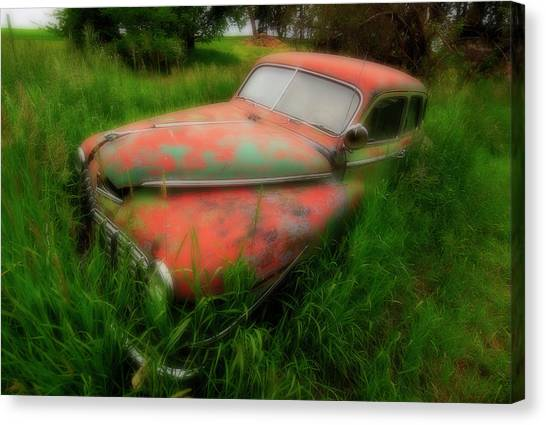 Abandoned In The Palouse Canvas Print