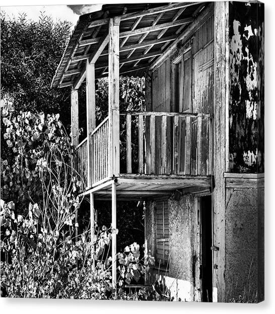 Trip Canvas Print - Abandoned, Kalamaki, Zakynthos by John Edwards