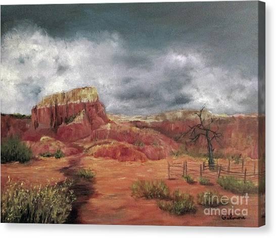 Abandoned  Ranch Canvas Print