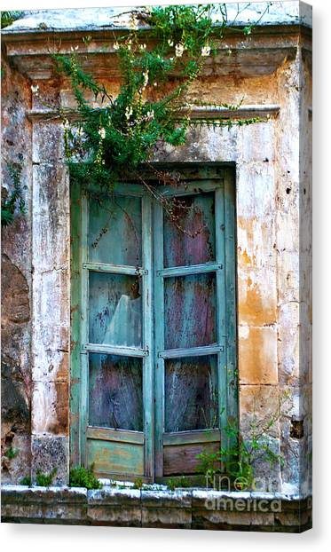 Abandoned Sicilian Sound Of Noto Canvas Print