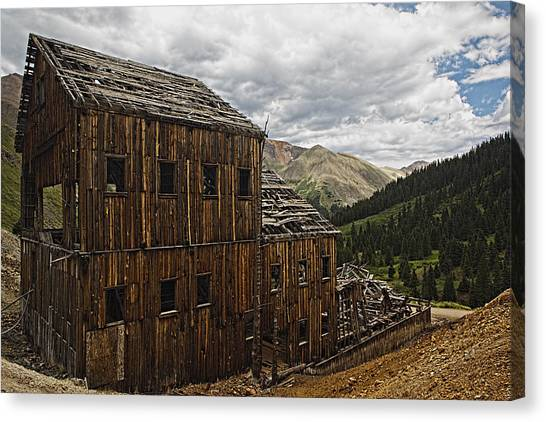 Abandoned Silver Mine Canvas Print