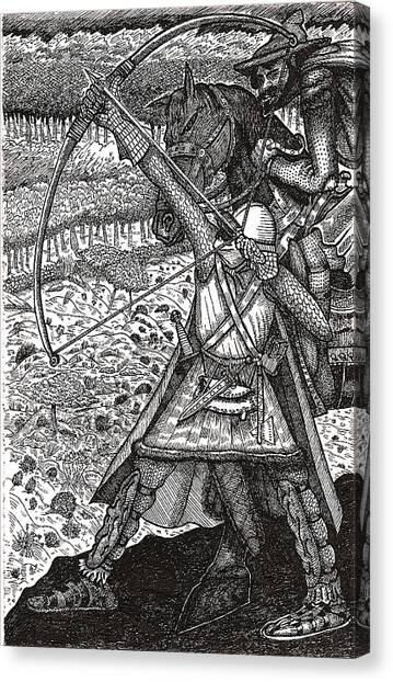 Abbadon Takes Aim Canvas Print
