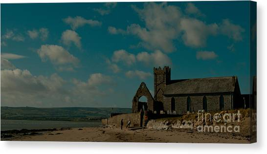 Abbeyside Church Canvas Print