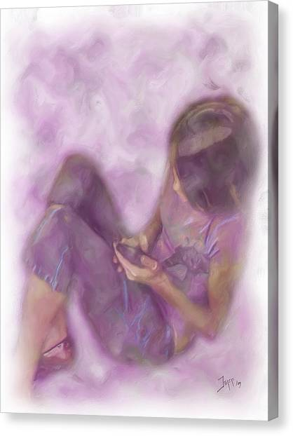 Abbiegayle Canvas Print by Jeffrey Bland