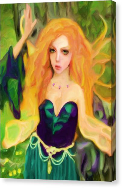 Abell - Beautiful  Canvas Print by Shelley Bain