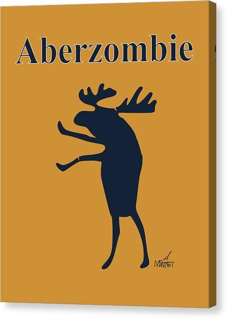 Aberzombie Canvas Print