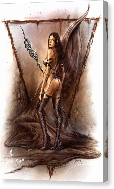 About Elves And Steel  Canvas Print