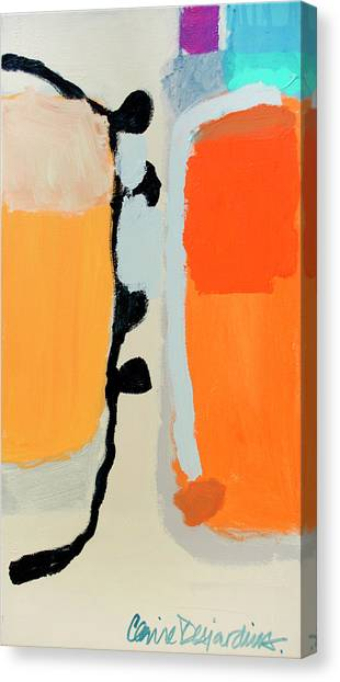 Canvas Print - About Face by Claire Desjardins
