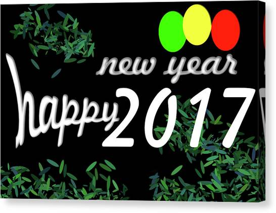 Canvas Print - About New Year by Dani Awaludin