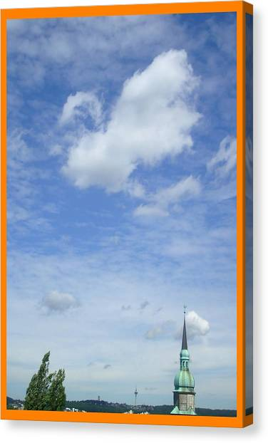 About Reaching The Sky Canvas Print by Allen Rybo