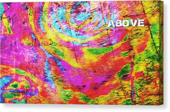 Above 1 Peter 4 Canvas Print