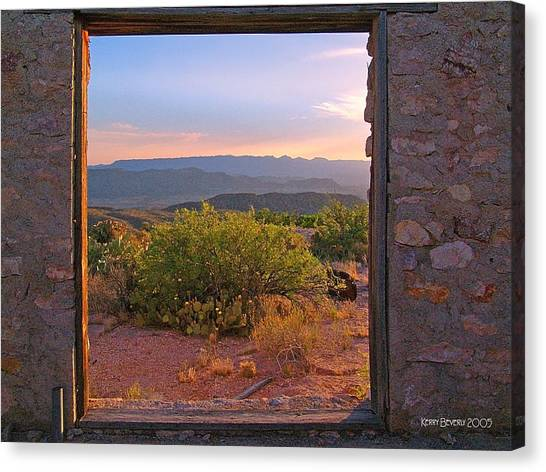 Above Lajitas Canvas Print