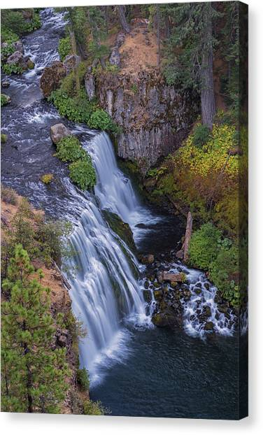 Above Middle Falls Canvas Print
