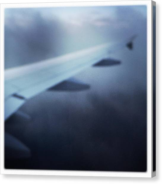 Travel Canvas Print - Above The Clouds 04 - Dreaming by Matthias Hauser