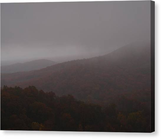 Above The Clouds Canvas Print by James and Vickie Rankin