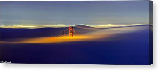 Above The Fog II Canvas Print