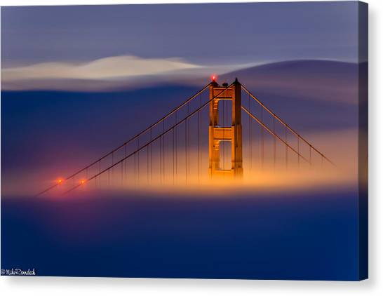 Above The Fog Canvas Print