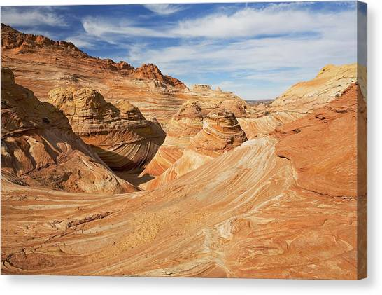 Arizona Coyotes Canvas Print - Above The Wave by Mike  Dawson