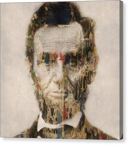 Abraham Lincoln Canvas Print - Abraham Lincoln  by Paul Lovering
