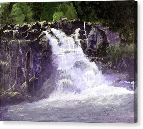 Abram's Falls Canvas Print by Barry Jones
