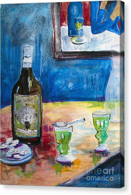 Absinthe For Two Canvas Print