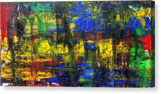Gerhard Richter Canvas Print - Abstract # 2  by Rich Franco