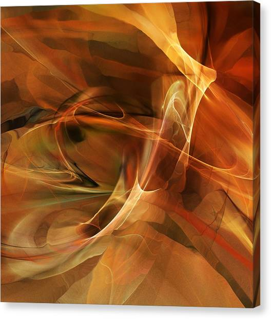 Abstract 060812a Canvas Print