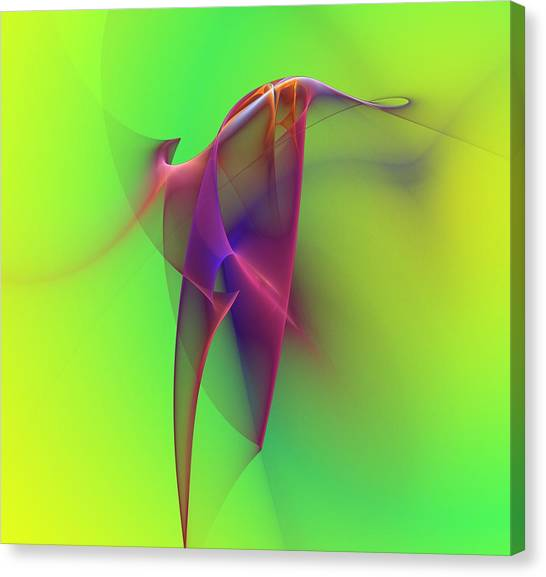 Fractal Canvas Print - Abstract 091610 by David Lane