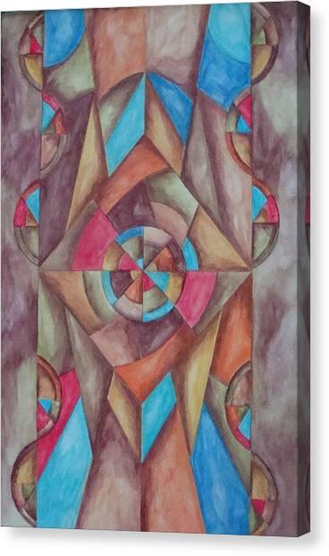 Abstract 1 Canvas Print by Jason McRoberts
