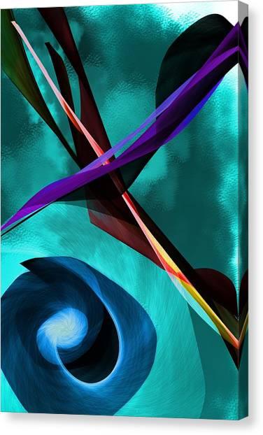 Canvas Print - Abstract 111417 by David Lane